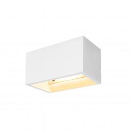 1002238 SLV plastra wandlamp wit 1xqt-de12 wandlamp gips
