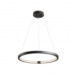 1002909 SLV one 60 hanglamp zwart 1xled 3000/4000k dali