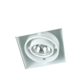 Witte inbouwspot trimless GU10