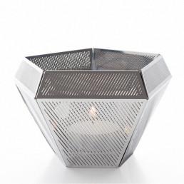 tom-CLC01S Tom Dixon Cell theelicht zilver
