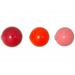 vit-201-164-51 Vitra Coat Dots haak set van 3 rood