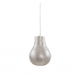 Aanbieding Zenza The Big Little Pear Silver oosterse lamp