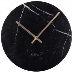 zui-8500033 Zuiver Marble Time klok Black