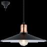 49452 Eglo Bridport Vintage hanglamp zwart